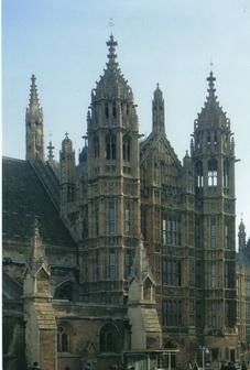Вход в палату лордов