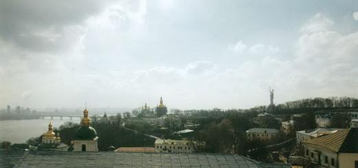 Киево-Печерская лавра. Общий вид