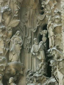 Скульптурные элементы фасада